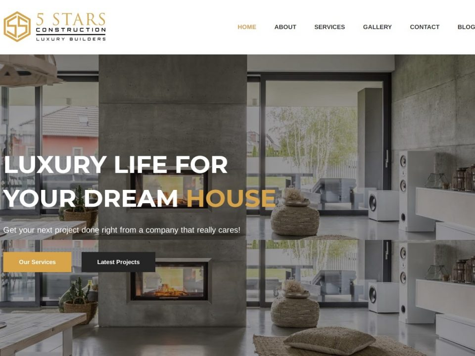 5starsconstructionllc - Website Banner
