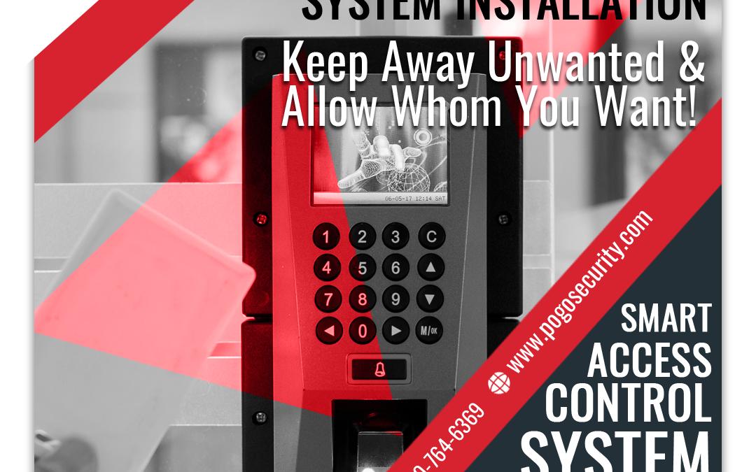 Access Control System - Facebook Ad Design