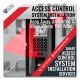 Access Control System - Facebook Ad Design