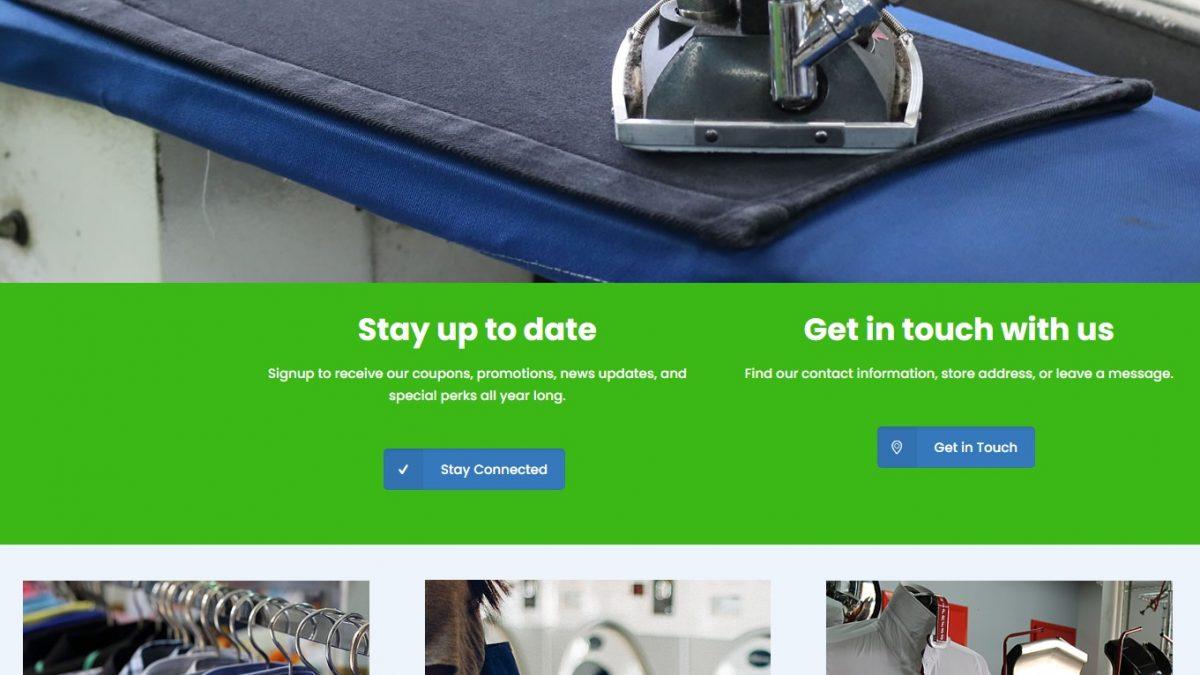 Alandrycleaners- Website Design & Development