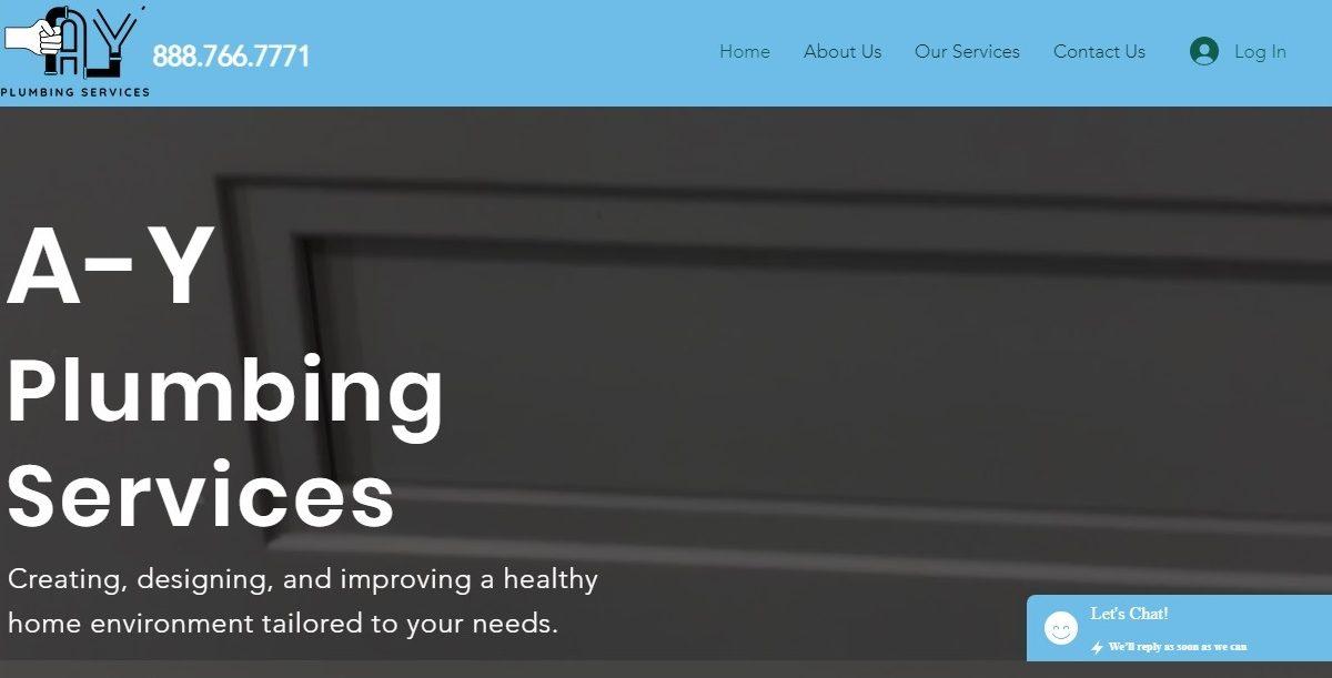 Ayplumbingservices - Website Banner