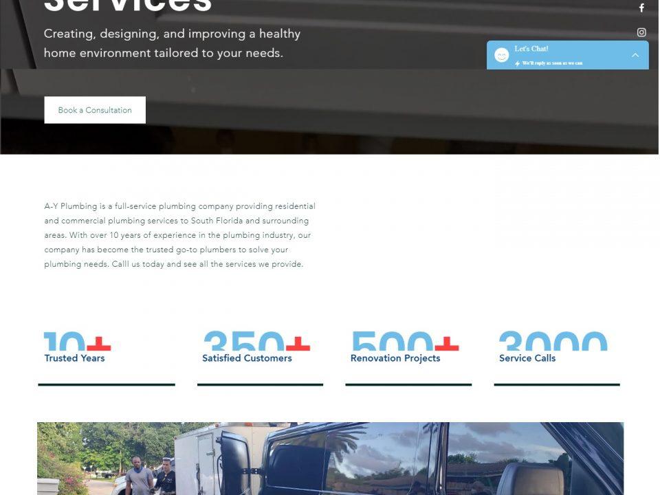 Ayplumbingservices- Website Design & Development