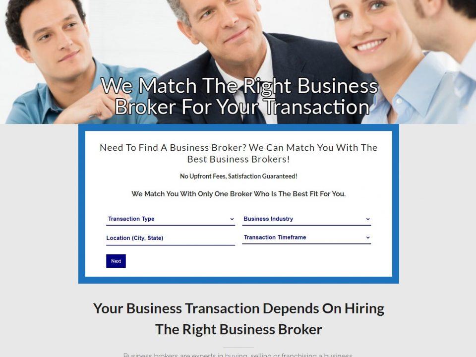 Brokermatcher - Website Design & Development