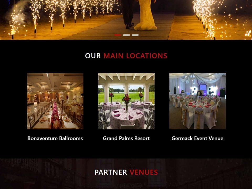 Browardeventvenues- Website Design & Development