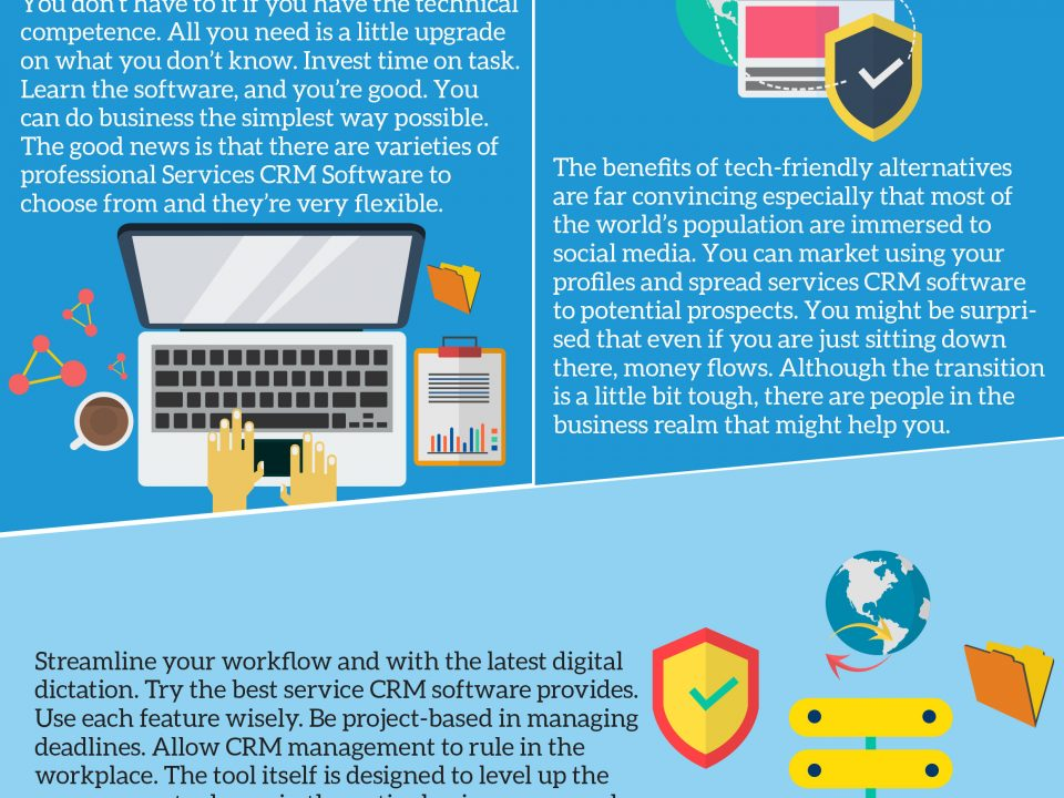 CRM Software Infographics