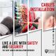 Cable Instalation - Facebook Ad Design