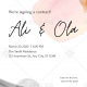 Custom Wedding Cards