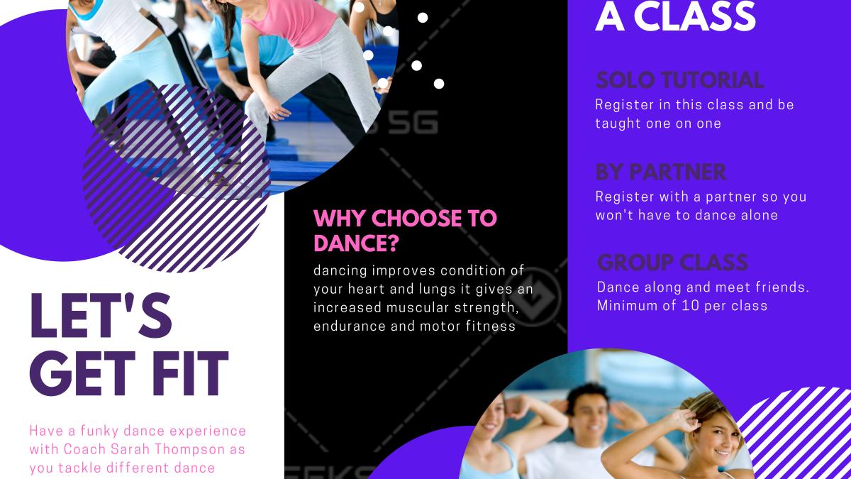 Funky Dance Experience - Sports Brochure