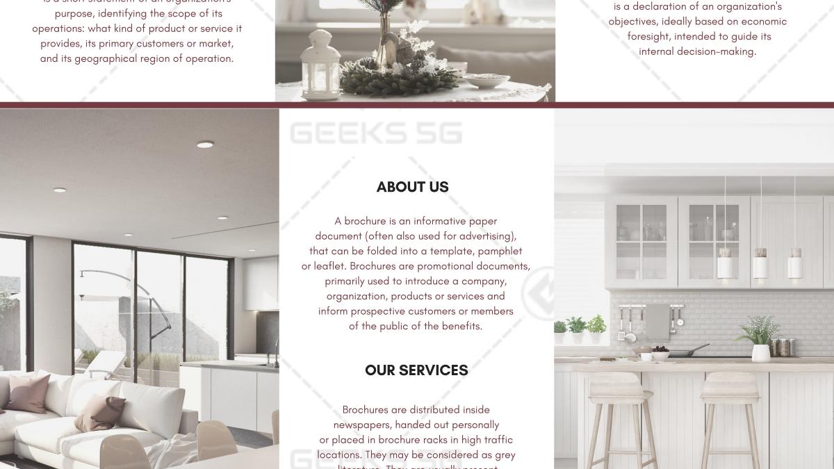 Furniture & Decor Brochure