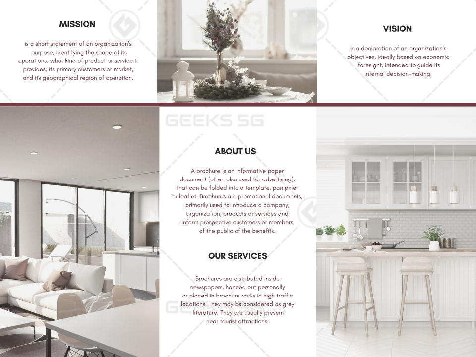 Furniture & Decor Brochure