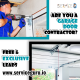 Garage Door Contractor - Facebook Ad Design
