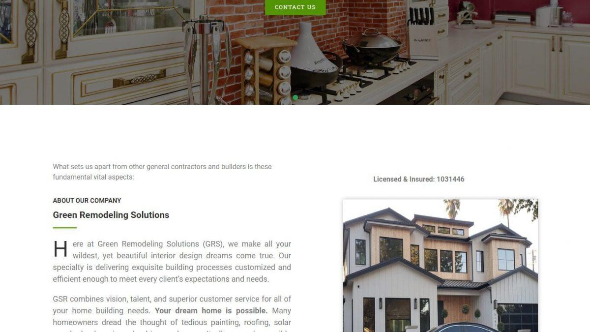 Greenremodelingsolutions Linkedin