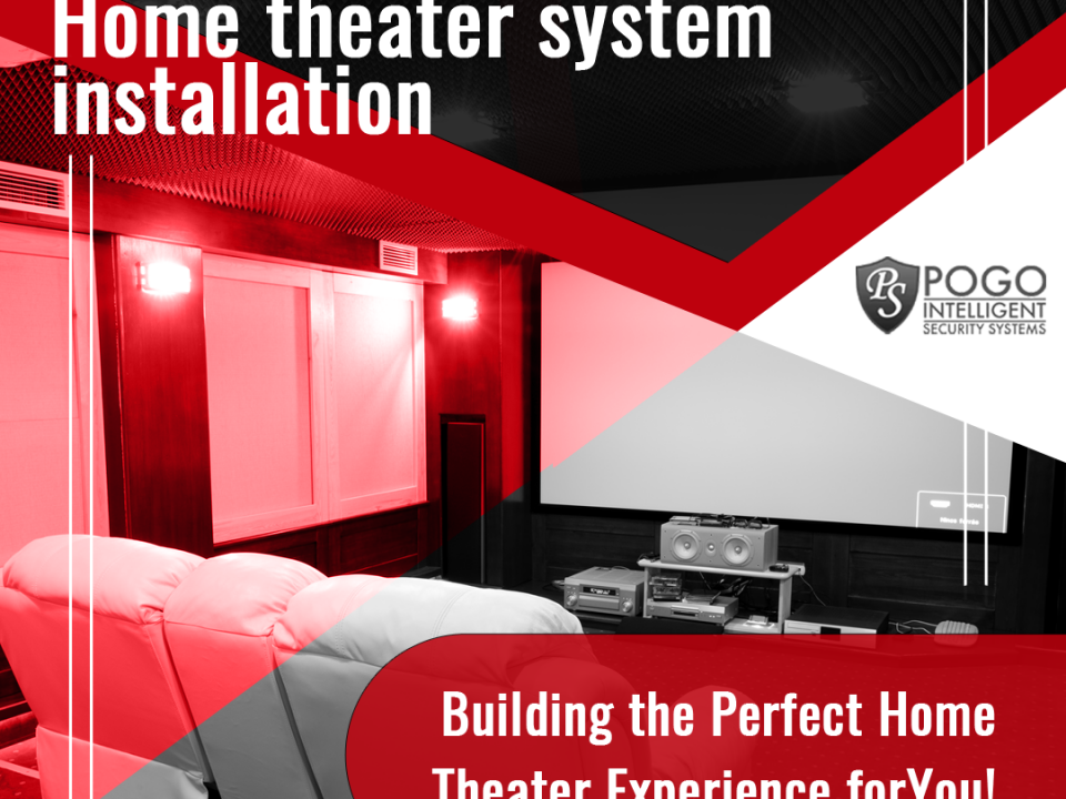 Home Theater System Installation - Facebook Ad Design