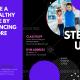 Live a Healthy Life - Sports Brochure