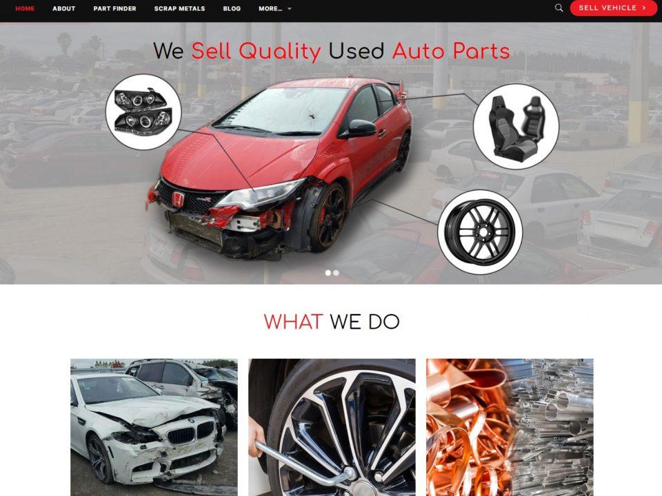 Mlautopartsfl - Website Design & Development