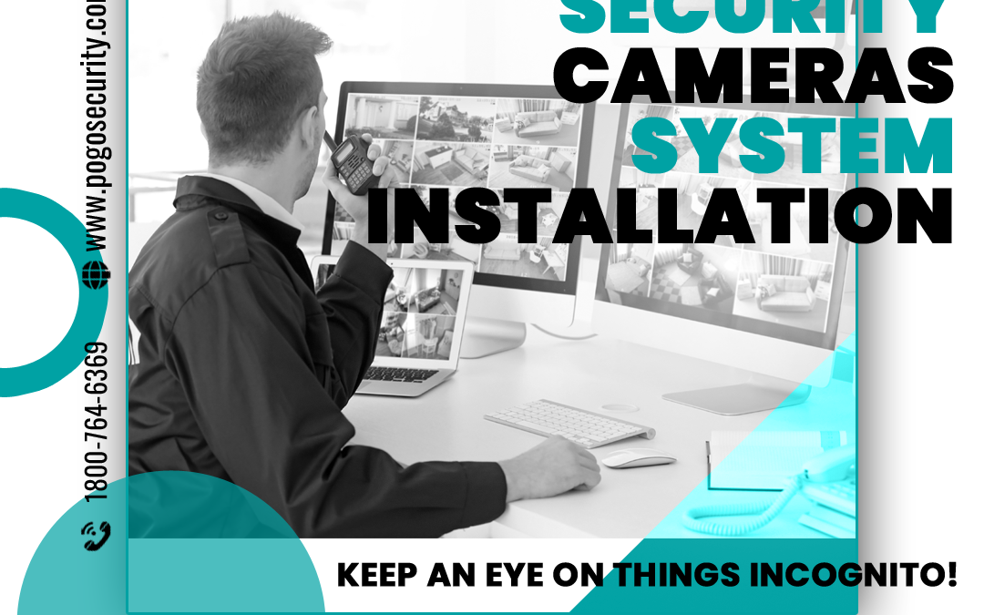 Security Cameras - Facebook Ad Design