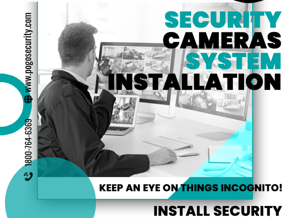 Security Cameras - Facebook Ad Design