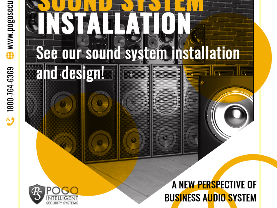 Sound System Instalation - Facebook Ad Design