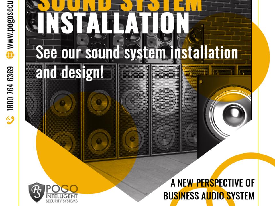 Sound System Instalation - Facebook Ad Design
