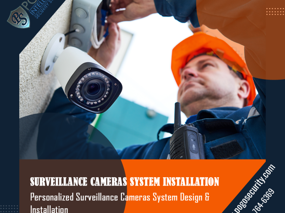 Surveillance Camera System - Facebook Ad Design