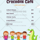 Crocodile Cafe - Website Menus
