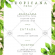 Tropicana - Website Menus