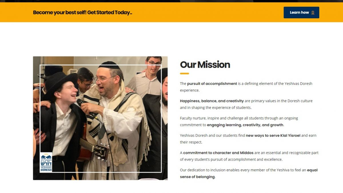 Yeshiva-app- - Website Design & Development